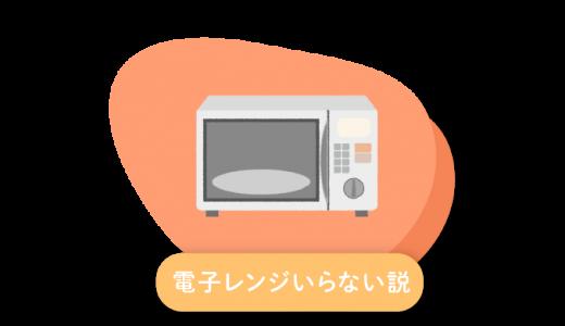 【初めてのミニマリスト】電子レンジがなくても生活できるよ!